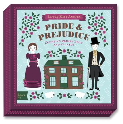 Baby Lit Pride and Prejudice Playset With Book By Adams, Jennifer